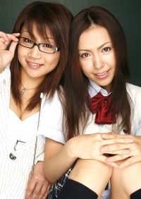 if... 忍と亜美が不登校の女子校生とその担任だったら
