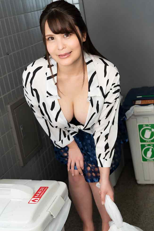 朝ゴミ出しする近所の遊び好きノーブラ奥さん 美雲あい梨